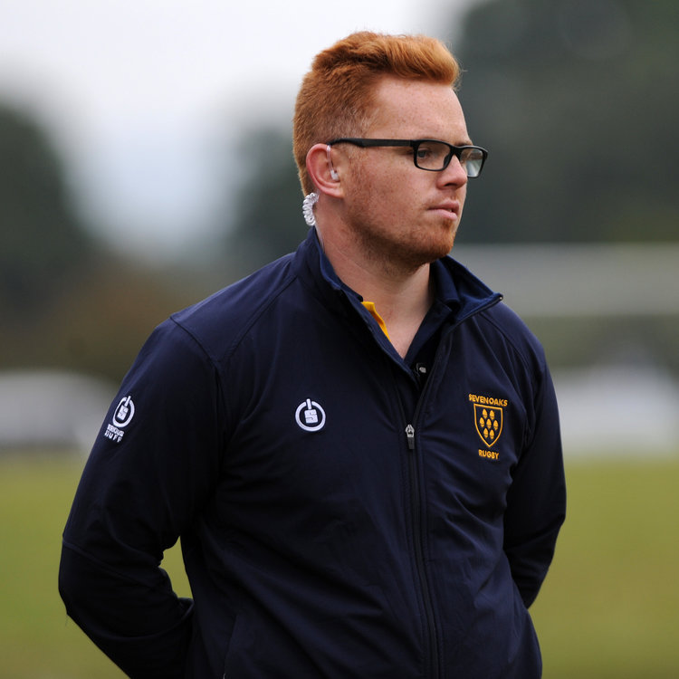 Forward thinking.  Head Coach Adam Bowman is focused on ensuring Sevenoaks RFC Senior Squad improve across all aspects next season.  Photo Credit: David Purday