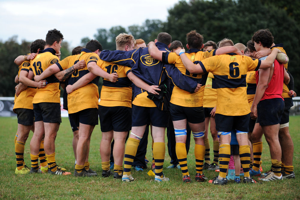 One Squad, Together! Bowman has focused on building a big squad capable of competing in London South 1 Rugby.  Photo Credit: David Purday