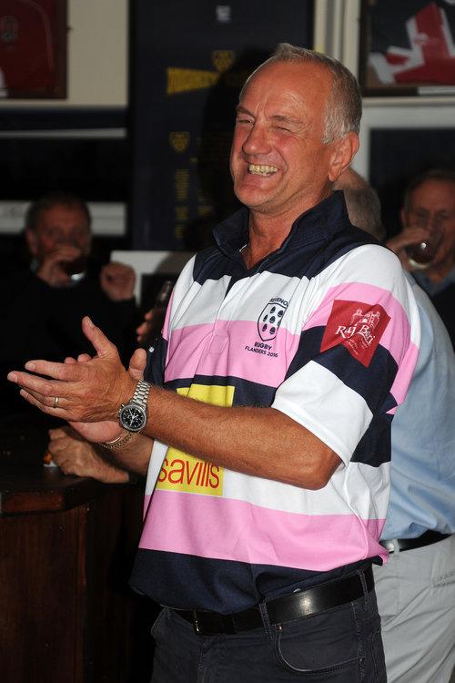 Club Chairman Trevor Nicholson