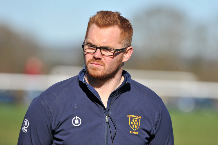 Rise to the challenge!  Head Coach Adam Bowman has challenged his squad to cut out errors and   rise to the challenge of the local derby against Maidstone RFC 1st XV this weekend.  Photo Credit: David Purday
