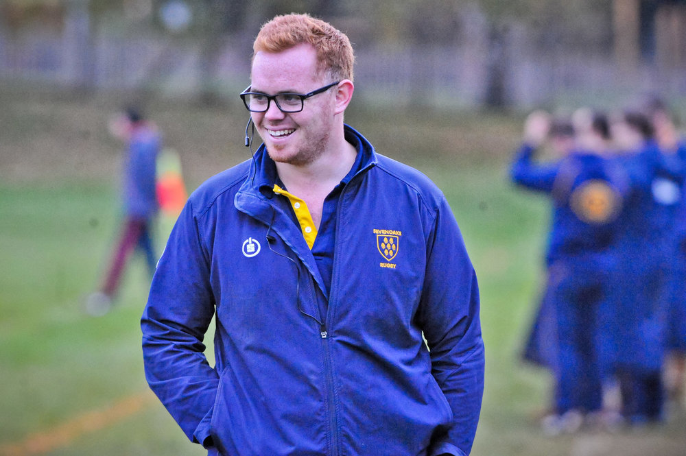 Head Coach Adam Bowman was all smiles after Oaks wins against London Cornish, Warlingham and Aylesford Bulls last weekend but is focused on backing those performances up this weekend.  Photo Credit: David Purday