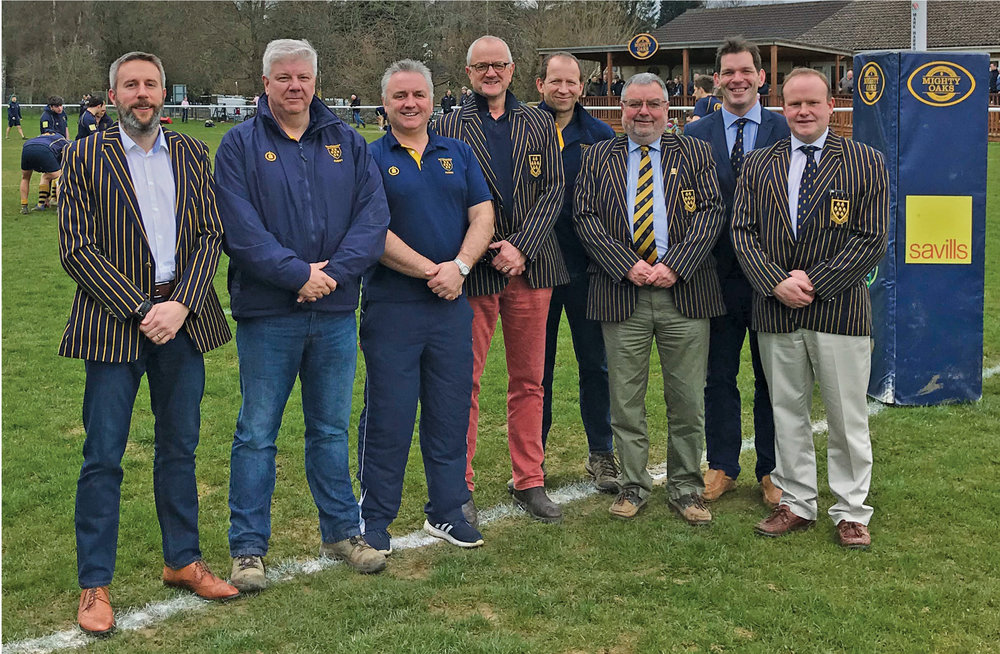 Sevenoaks Rugby - Management Team Simon Wright (Commercial Manager) Roger McKerlie (Director of Rugby) Danny Jones (Head of Juniors) Trevor Nicholson (Chairman) Andy Nicholls (Secretary) John Wilkinson (Treasurer) Steve Fitzmaurice (Marketing and PR Manager) Mike Wooldridge (President)