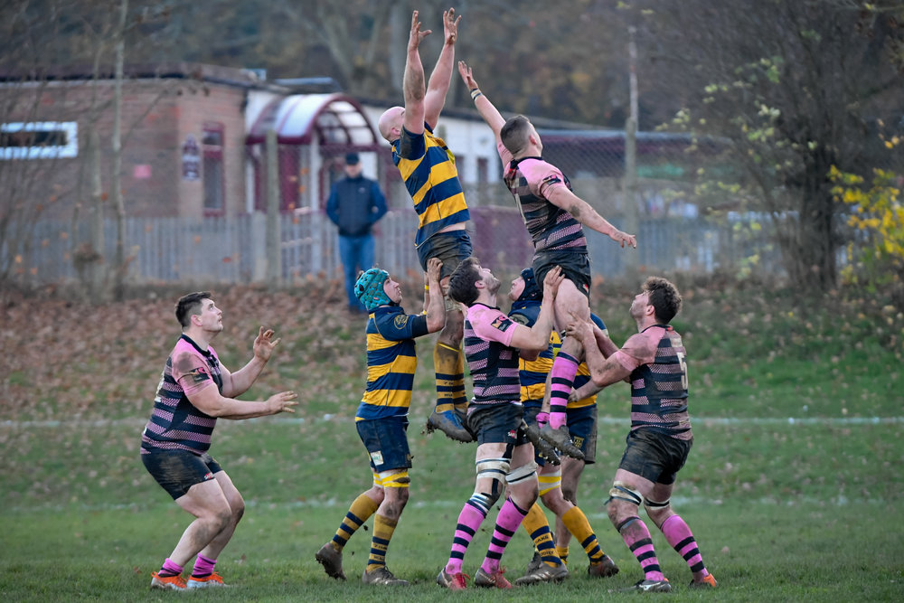 OAKS 1ST XV v. CAMBERLEY 17 NOV 2018  Photo Credit: David Purday