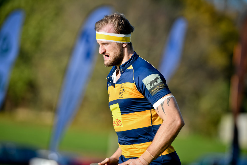 Oaks Josh Pettet was the try scoring hero for Oaks as they beat Havant. Photo Credit: David Purday