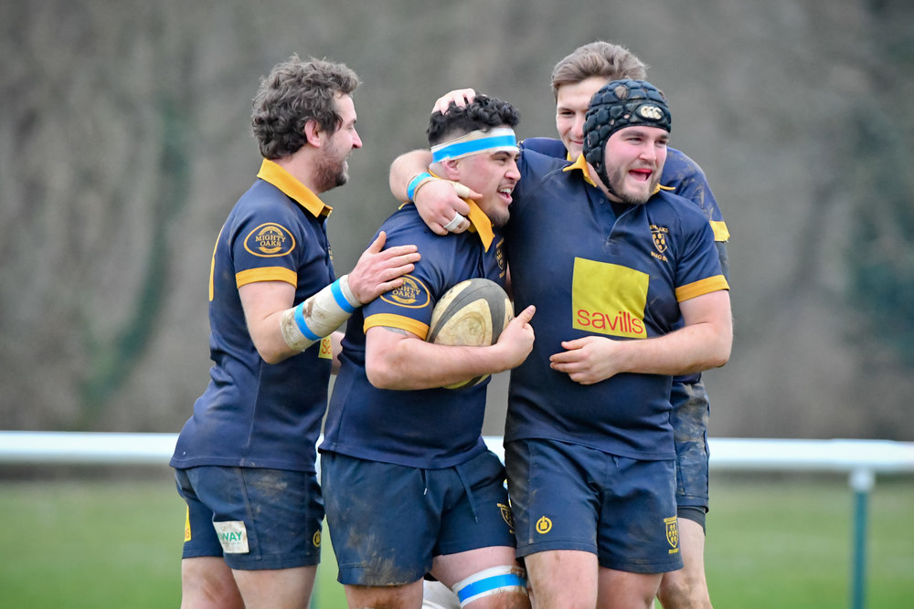 OAKS 2nd XV v. TUNBRIDGE WELLS 2ND XV 05 JAN 2019  Photo Credit: David Purday