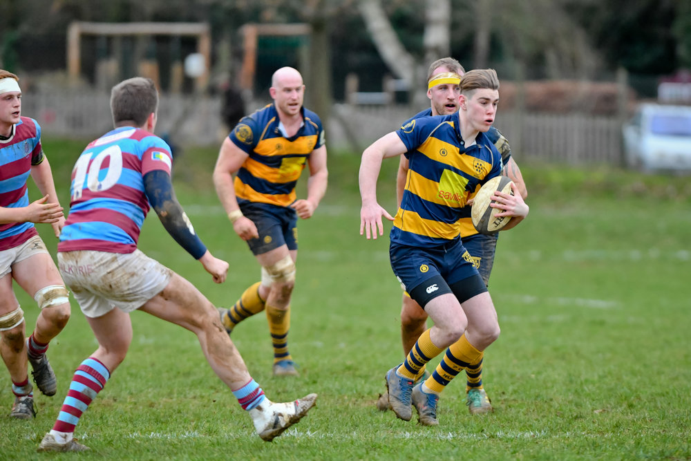 OAKS 1st XV v. HOVE 1st XV 12 JAN 2019  Photo Credit: David Purday