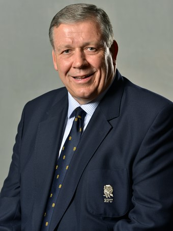 RFU President Chris Kelly will be in attendance at the Paddock for the match on Saturday. Photo Credit: RFU