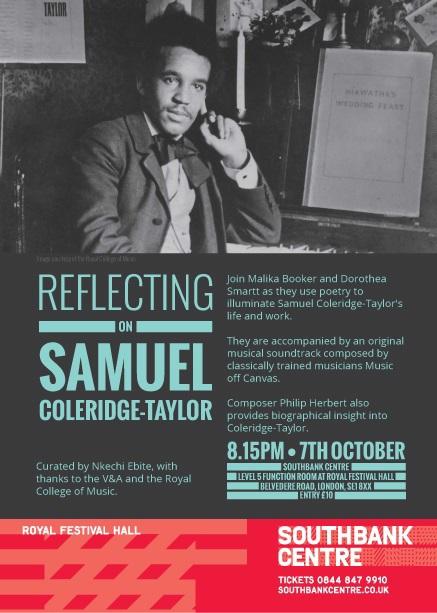 Samuel Coleridge-Taylor Lecture