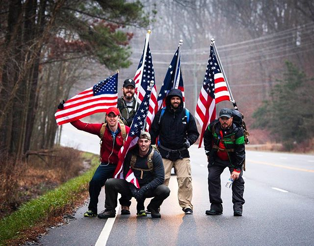January 4, 8am EST, @wisevc embarks on the sixth annual @freedomruck, a physical challenge he hopes will inspire patriotism and support for our servicemen and women. Vic and his fellow participants will ruck 105 miles in just 48 hours from the Virginia War Memorial in Richmond to the Arlington National Cemetery outside DC. Designed as a public display of thanks to the military, Freedom Ruck raises money for the @navysealfoundation.  We invite you to follow Vic and the team's grueling journey this weekend at @freedomruck. Cheer the team on with comments and likes, or donate at FreedomRuck.com.  Ruck on! #freedomruck2019 #freedomruck #ruckon