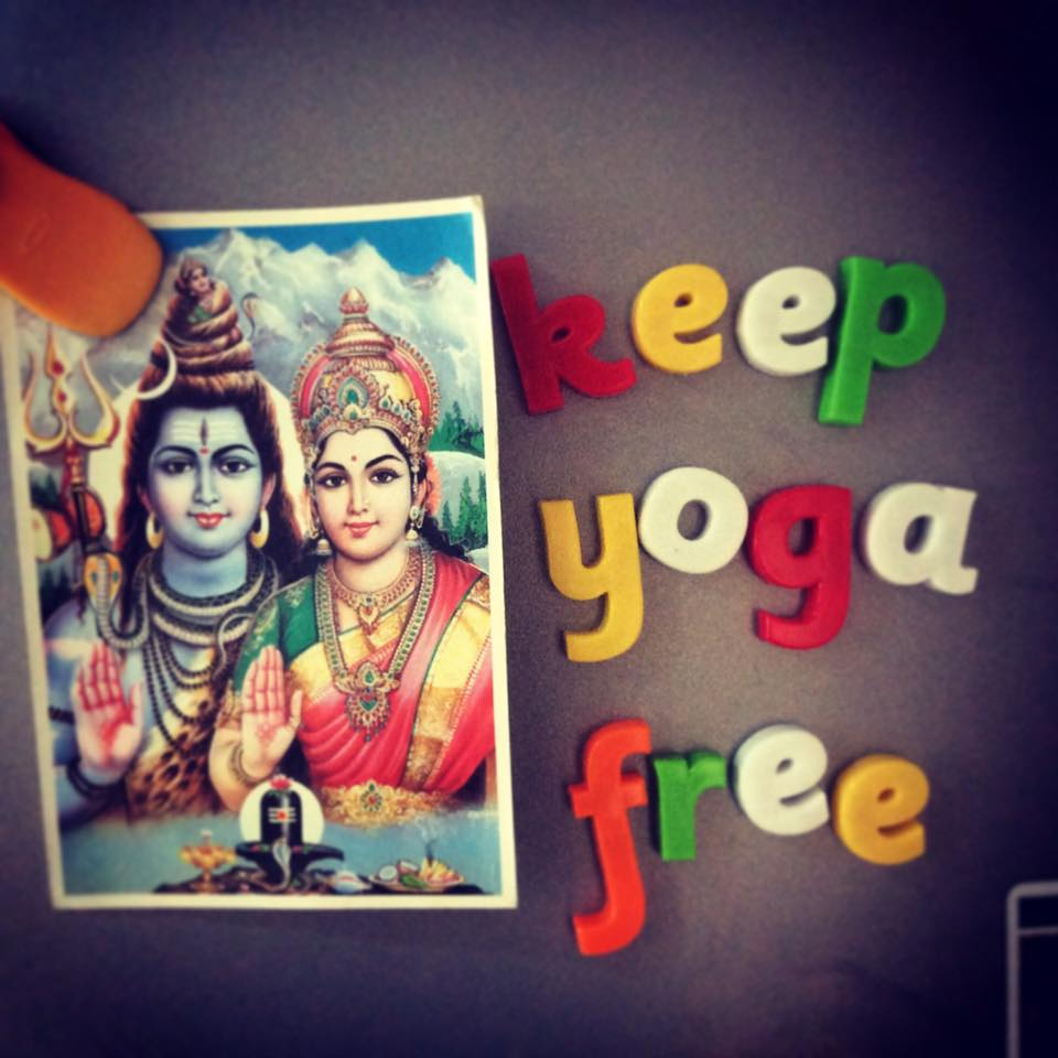 Keep Yoga Free