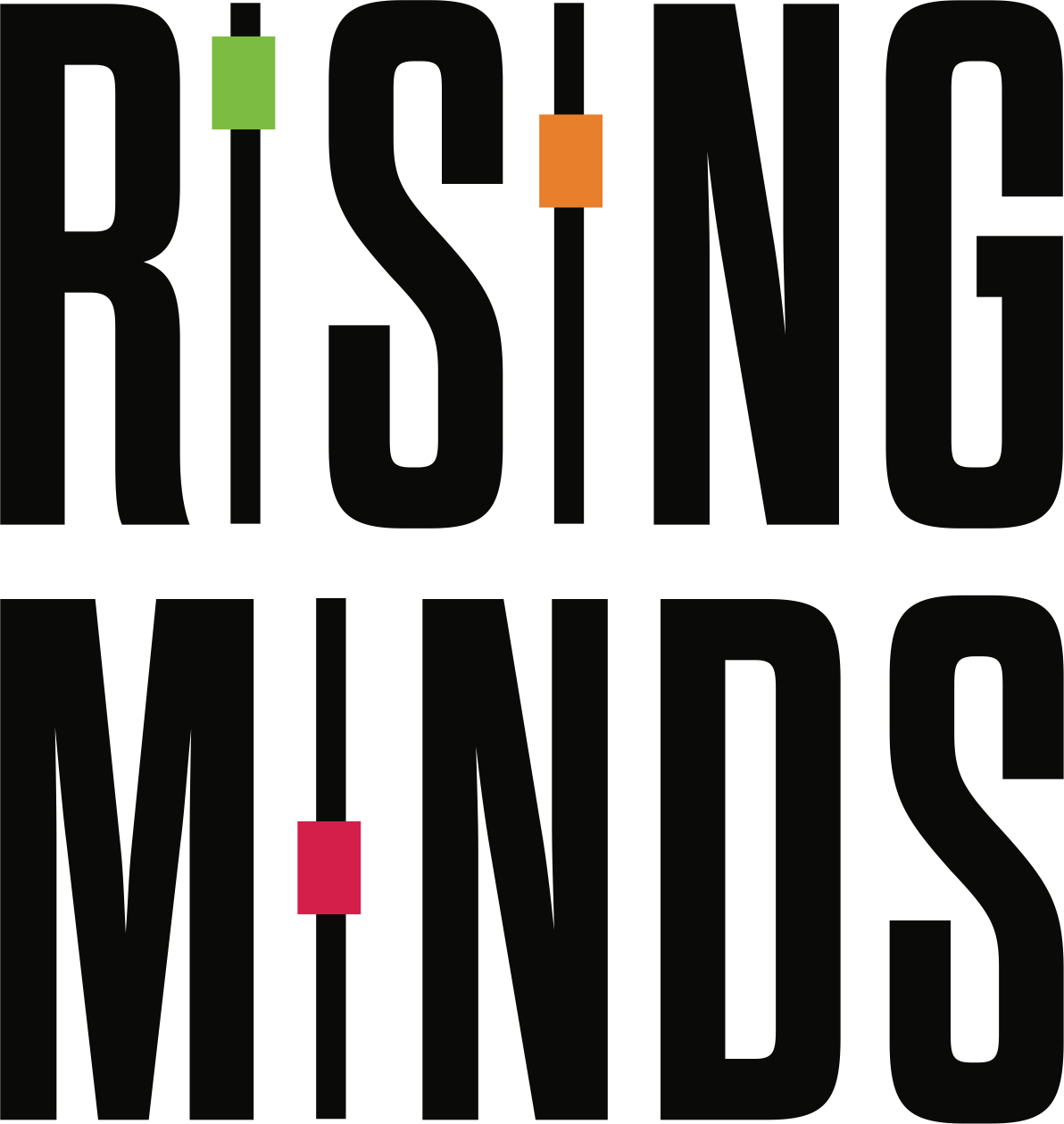 RISING MINDS | Free talks exploring the intersection of technology, business and culture.
