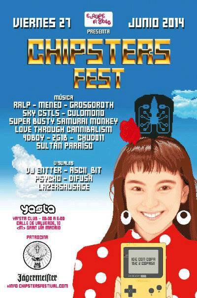 Poster for Chipsters Fest