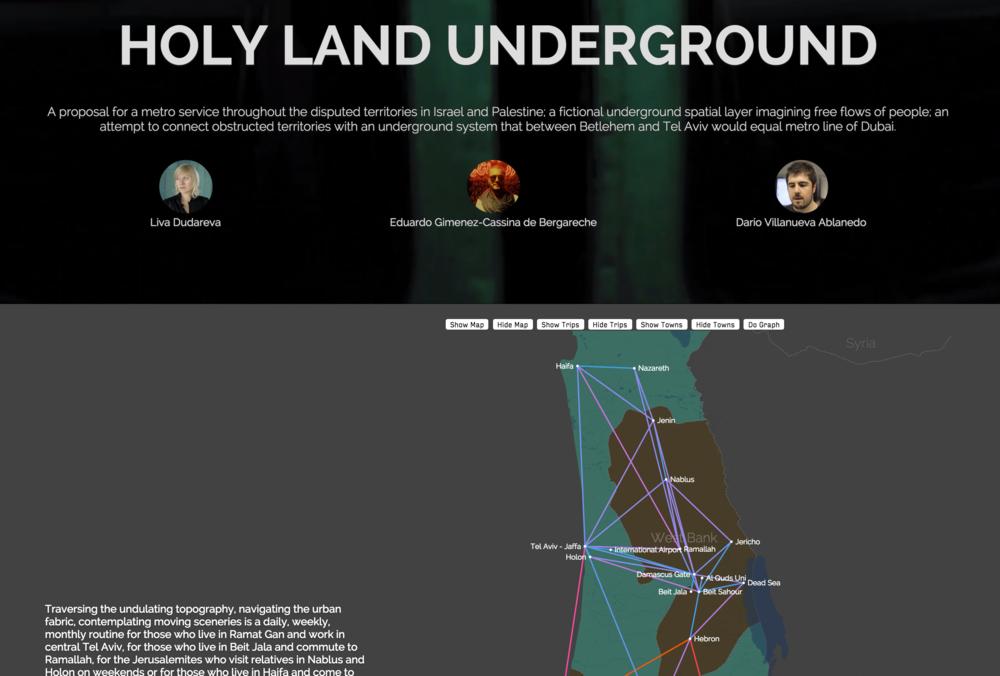 Holy Land Underground (WIP)