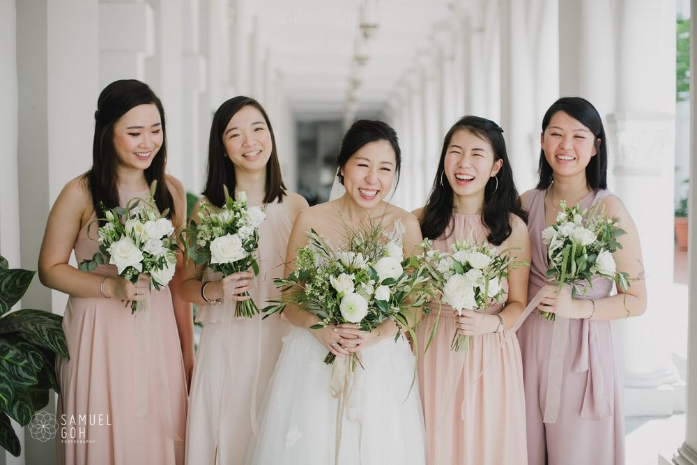 Wedding day of Li Han and Makoto by Samuel Goh Photography