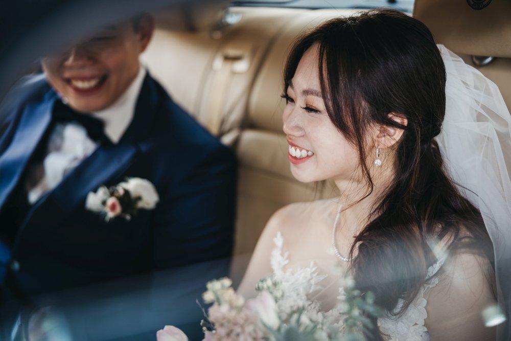 Karen + Kelvin's wedding day