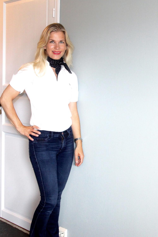 hvit skjorte Lene g.
