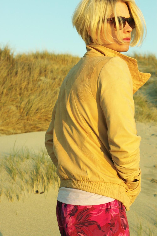 Skinnjakken for noen år siden..jakken var ny og eierens hår var litt kortere ;) Ph: Stine Rommetveit
