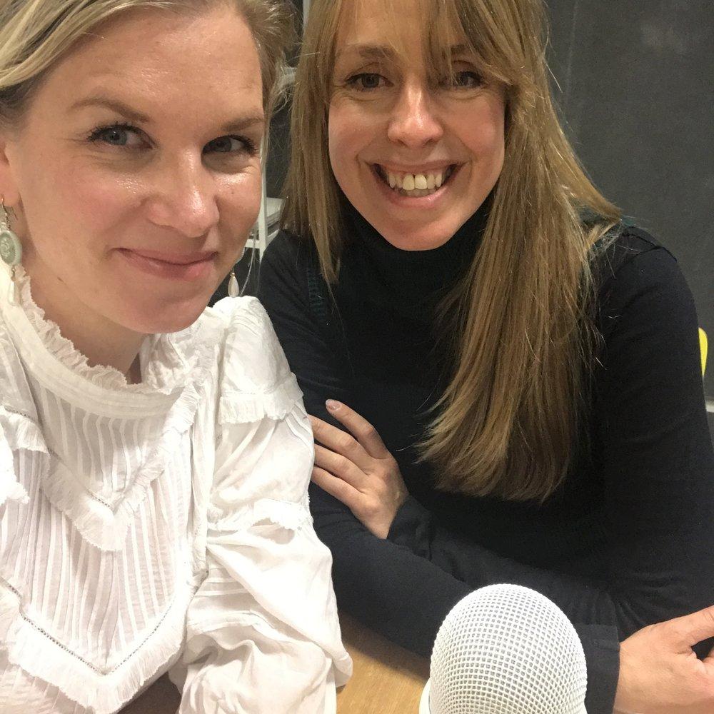 Podcast - Anja Stang. Copyright Lene Gravdal