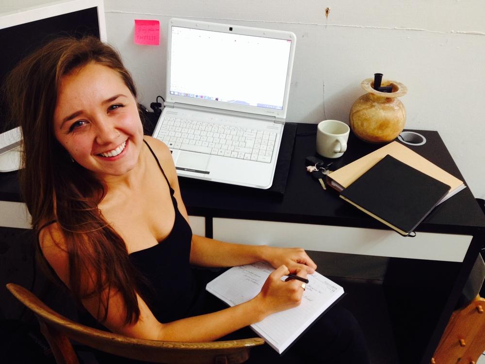 Meet Lauren Newman MY-FOLIO's new PR assistant.