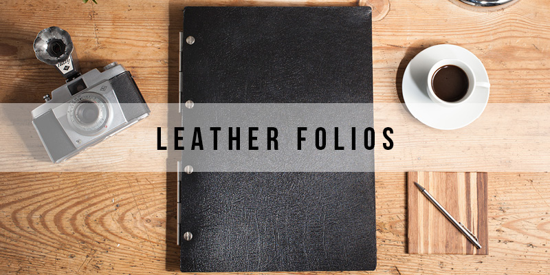 Shop leather presentation folder #MYFOLIO