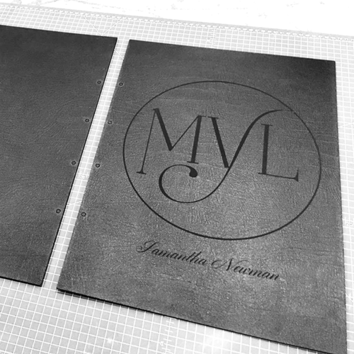 LOGO ENGRAVED FOLIO