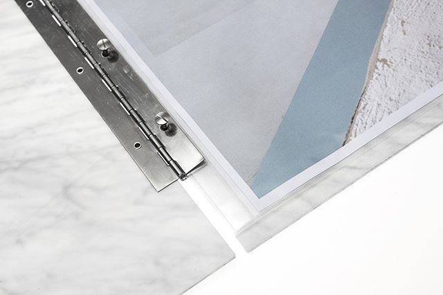 Take a look inside our marble hinge-bound perspex folios | Bound by adjustable binding posts to suit your required page capacity as your work develops and grows // #MYFOLIO - - - #portfolio #folio #personalised #personalisedportfolio #leather #leatherportfolio #personalisedgifts #giftideas #beautiful #madeinuk #madeinlondon #madeinengland #vsco #marble #photography #logo #logodesign #fashionportfolio #photographyportfolio #interiorsporfolio #corporateportfolio #branding #corporategifts #clientgiftideas #perspex #architect #architecture