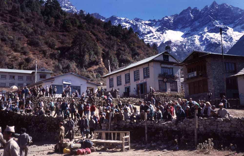 Lukla: front line for the coming flood