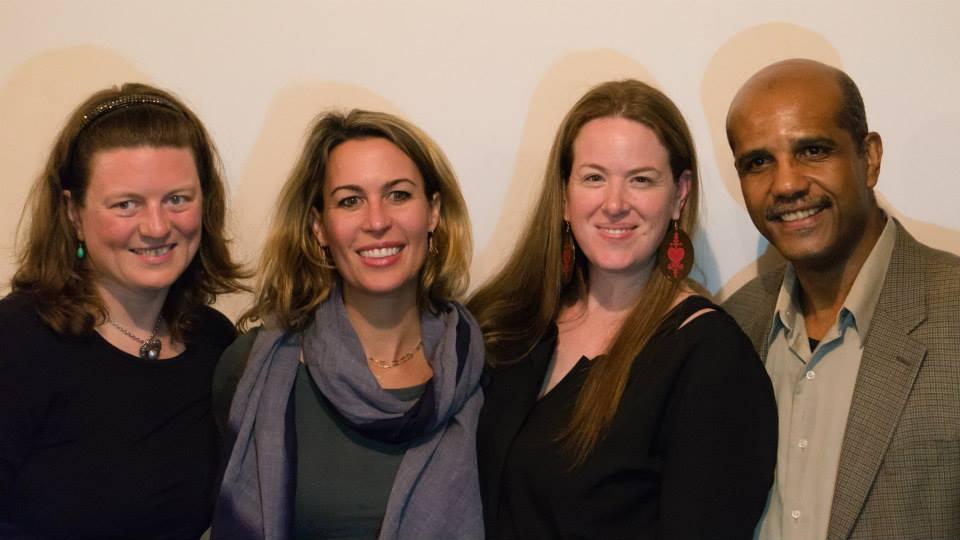 Victoria Rowan, MIchele Mitchell, Melinda Miles and Jocelyn McCalla. Photo credit to Michèle Marcelin.