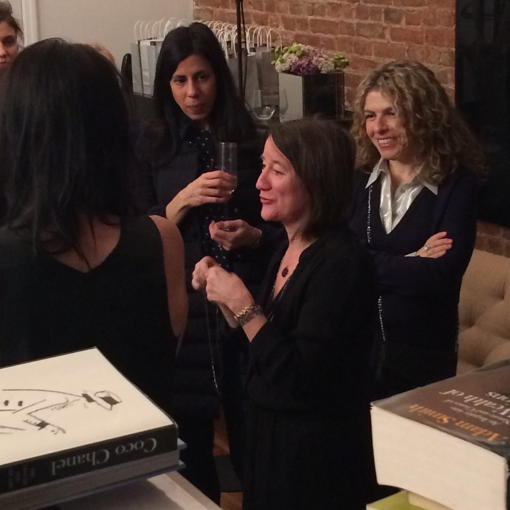 Artist Cass Lilien explains the inspiration for the bracelet during a launch party earlier this year.