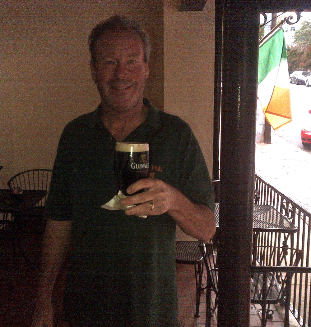 Pete Rose toasting Val from Fredericksburg, VA.
