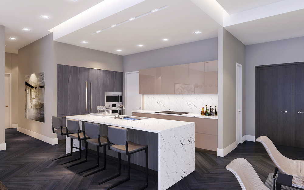 LUXURY COMMERCIAL & RESIDENTIAL INTERIOR DESIGNS AT GIRALDA PLACE, CORAL  GABLES