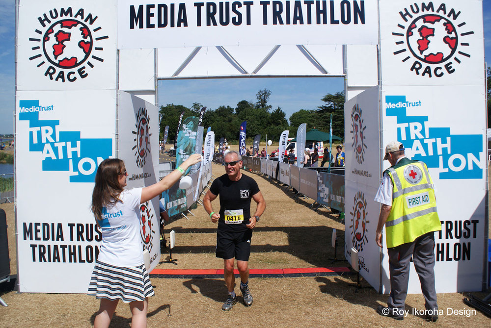 Competitors crossing the finish line | © Roy Ikoroha
