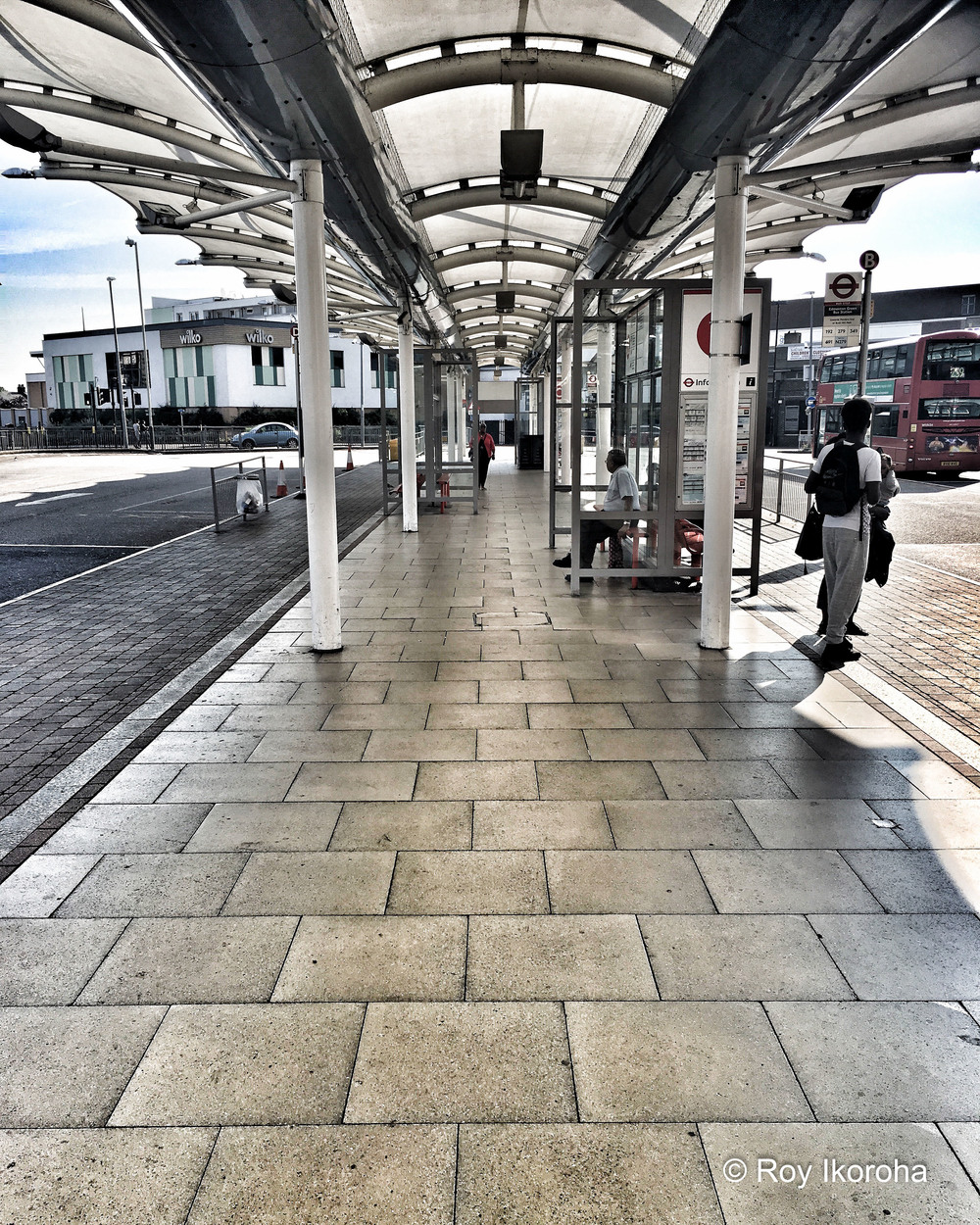 Edmonton Green bus station, London