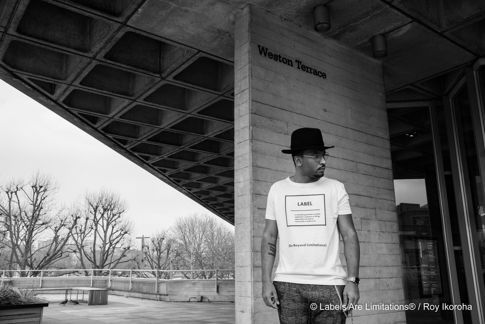 Sug Sean for Labels Are Limitations®, Southbank, London