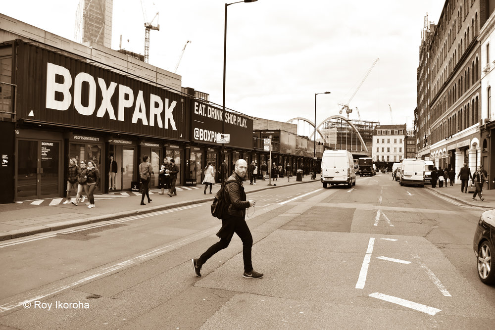 Boxpark Shoreditch, London
