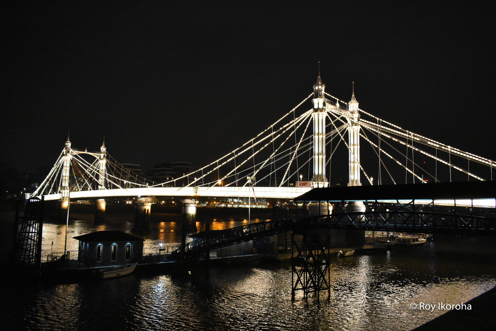 Albert Bridge, Chelsea, London