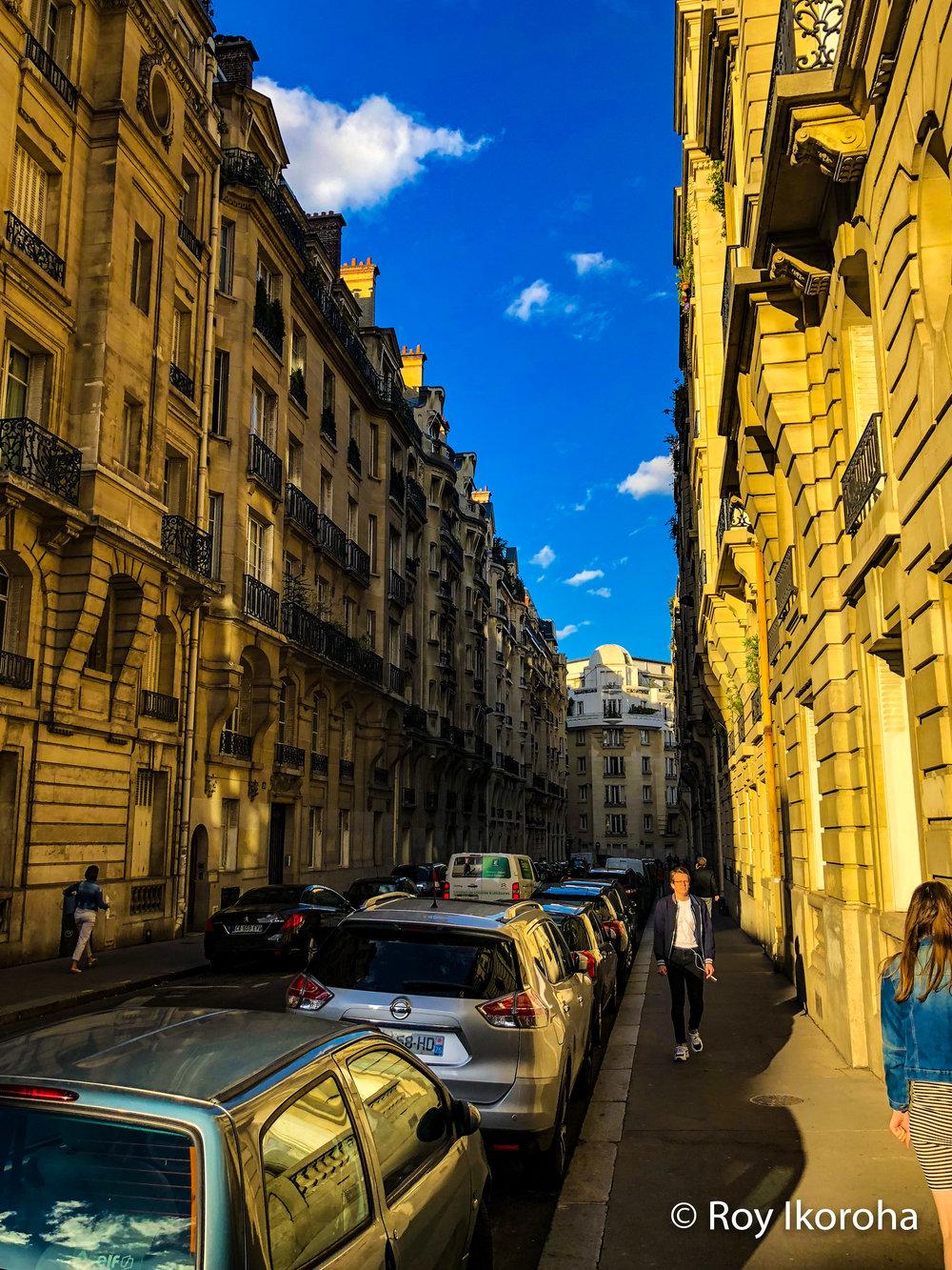 Parisian streets, Paris