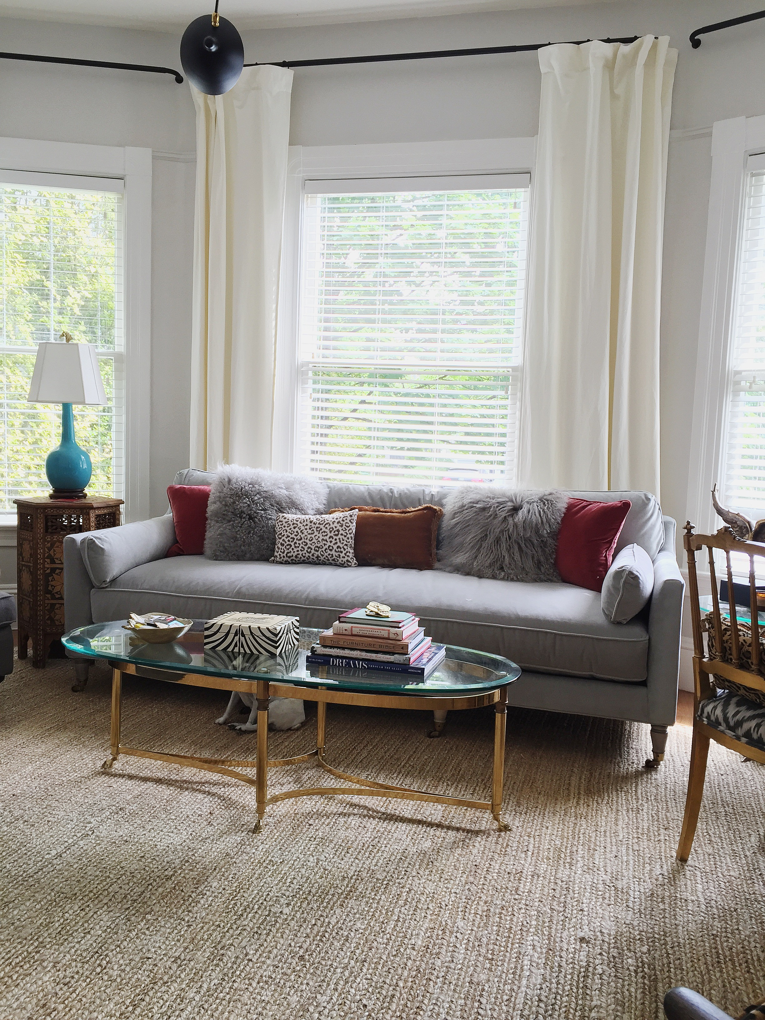 Our Seattle Cottage | New Sofa