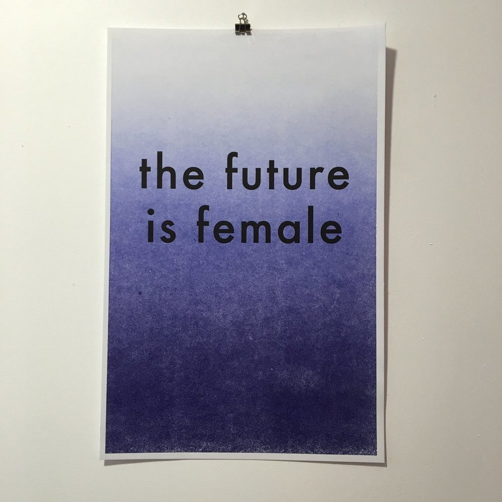 The Future Is Female Poster  | Otherwild
