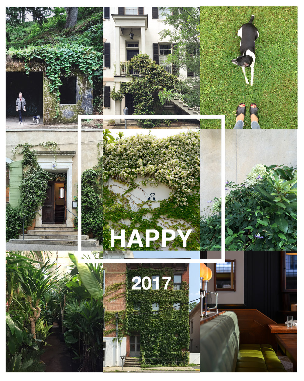 My New Years Card for 2017 | photos by Lauren L Caron © 2017