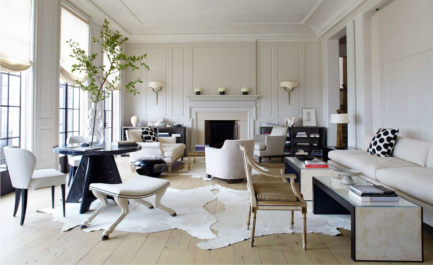 Cream White Rooms Designing Serene Spaces LAUREN L CARON