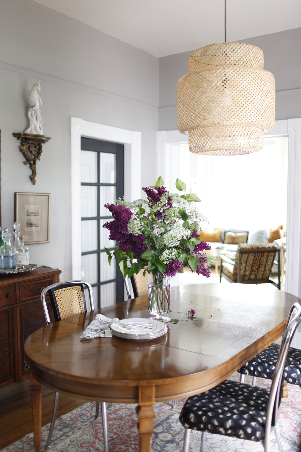 Our Seattle Cottage, Dining Room | Designed by: Lauren L Caron | Photographed by: Dorothé Brand of Belathée Photography | #ourseattlecottage