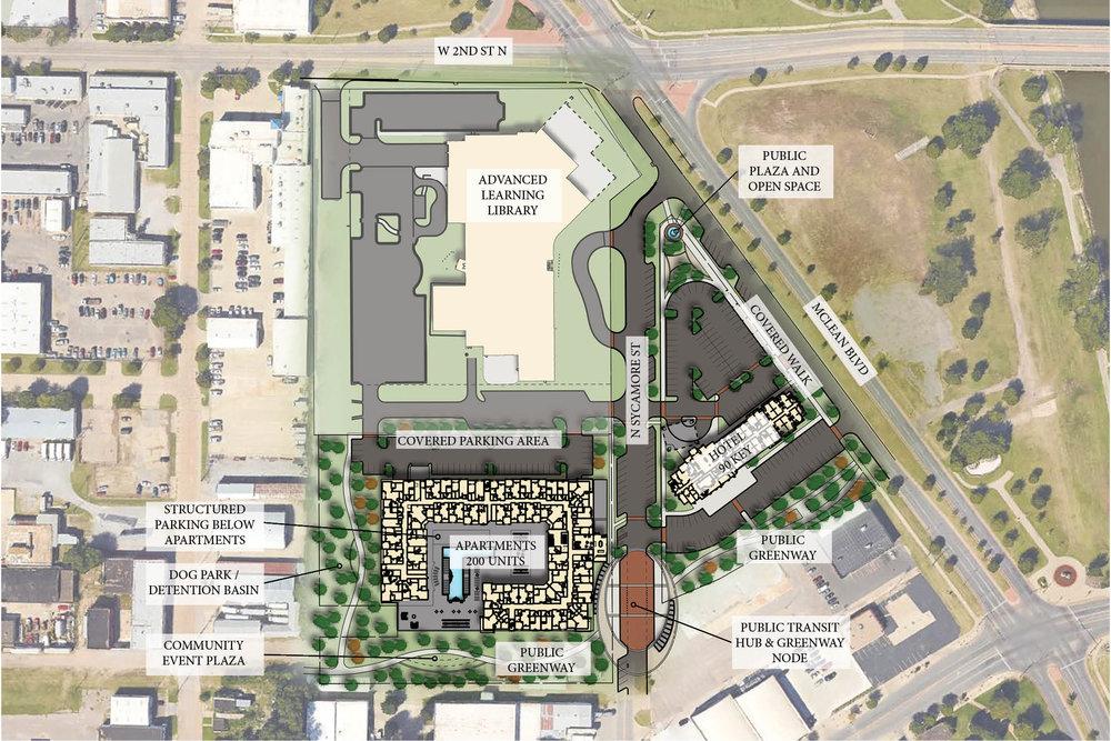 Concept Aerial Site Plan.