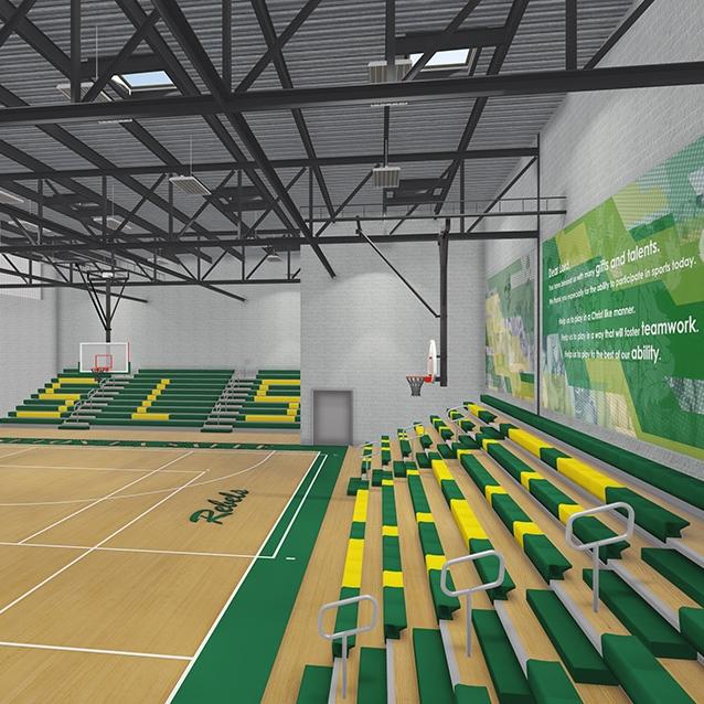 Seton La Salle Gymnasium Renovation