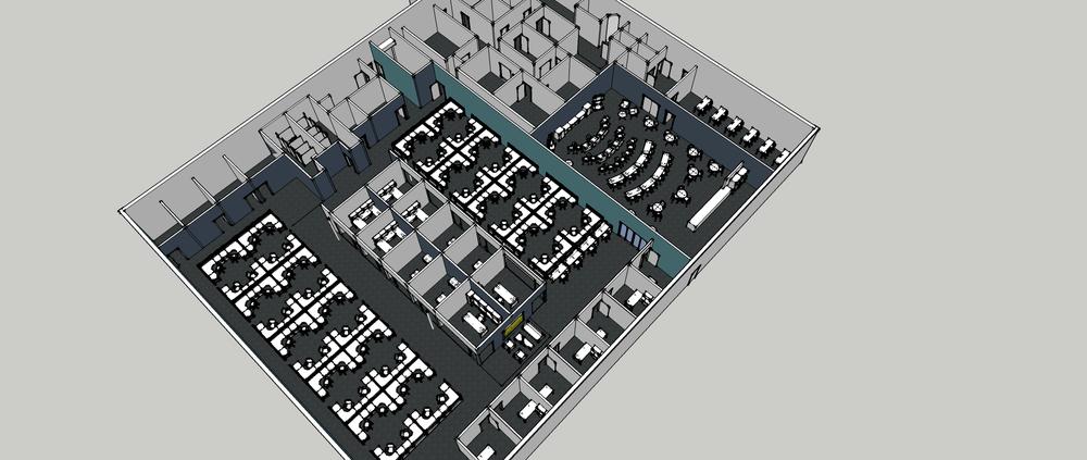 SERVICES: Schematic Design + Space Planning