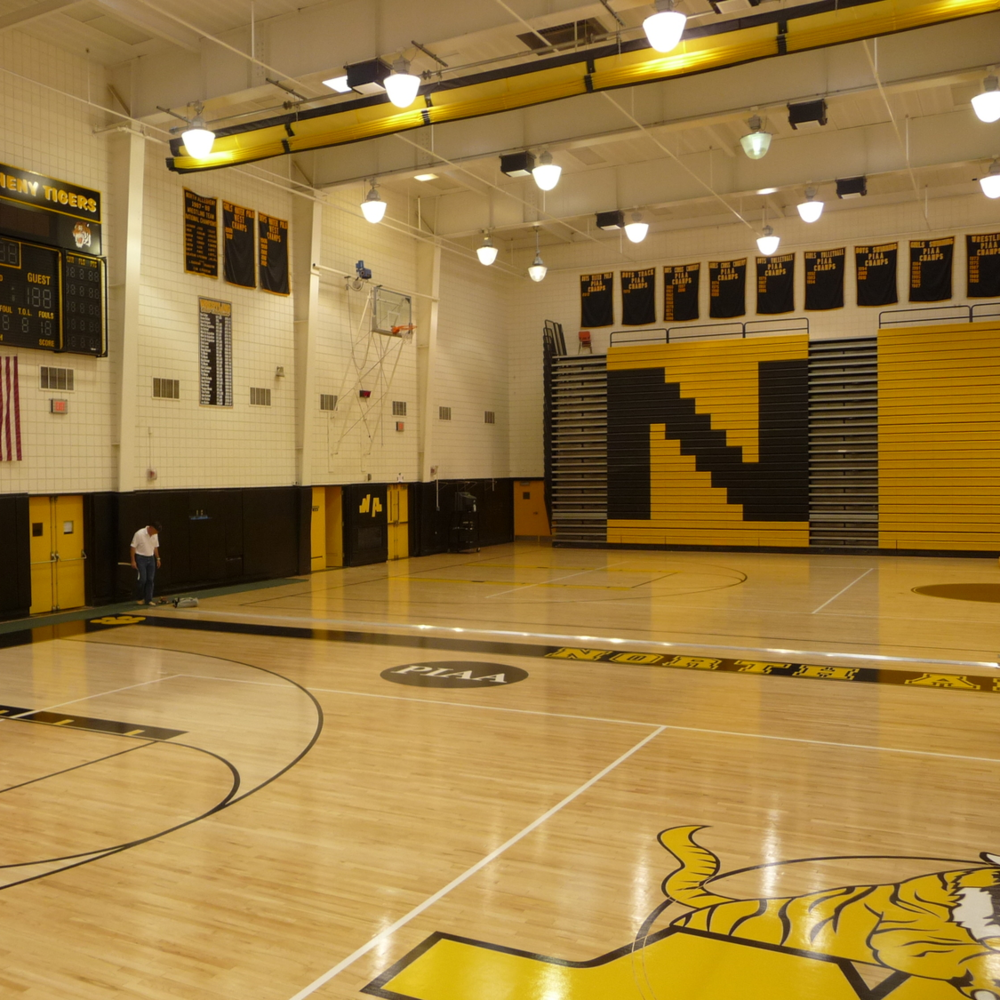 North Allegheny Gymnasium Floor