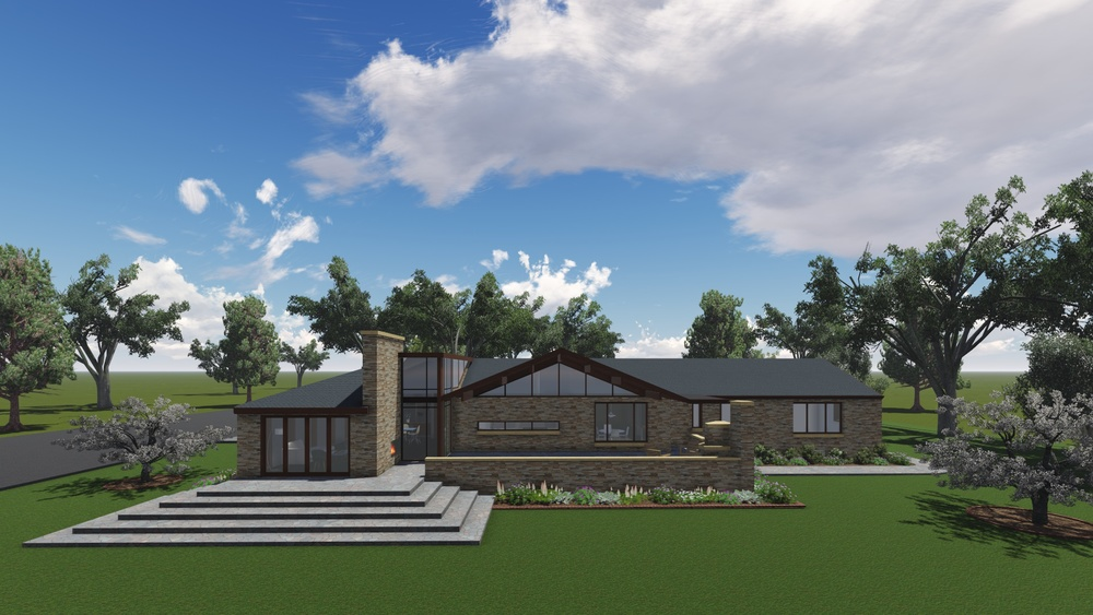 COMPLETED: Mid-Century Modern Addition Proposal