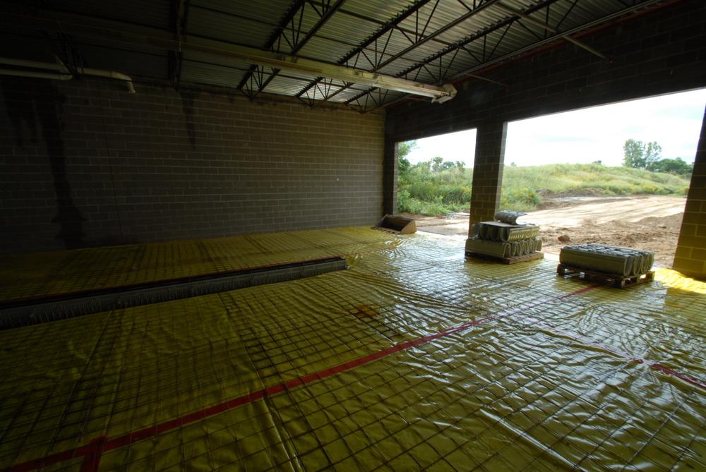 PROCESS: Concrete pour prep