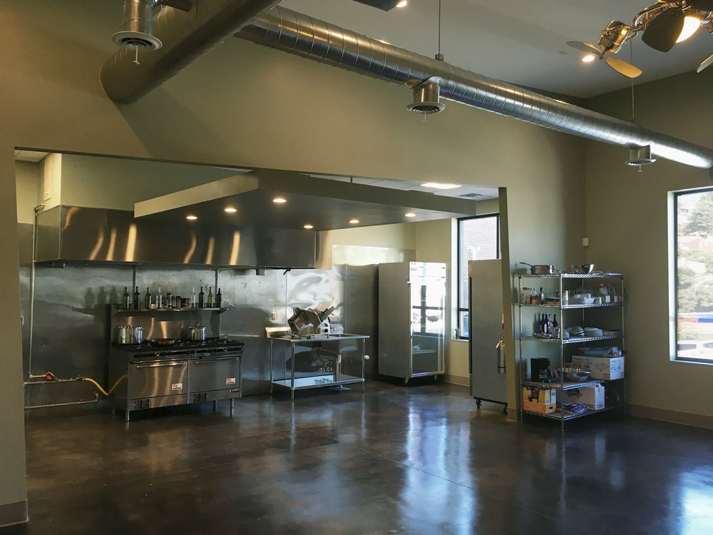 COMPLETED: Catering business interior renovation