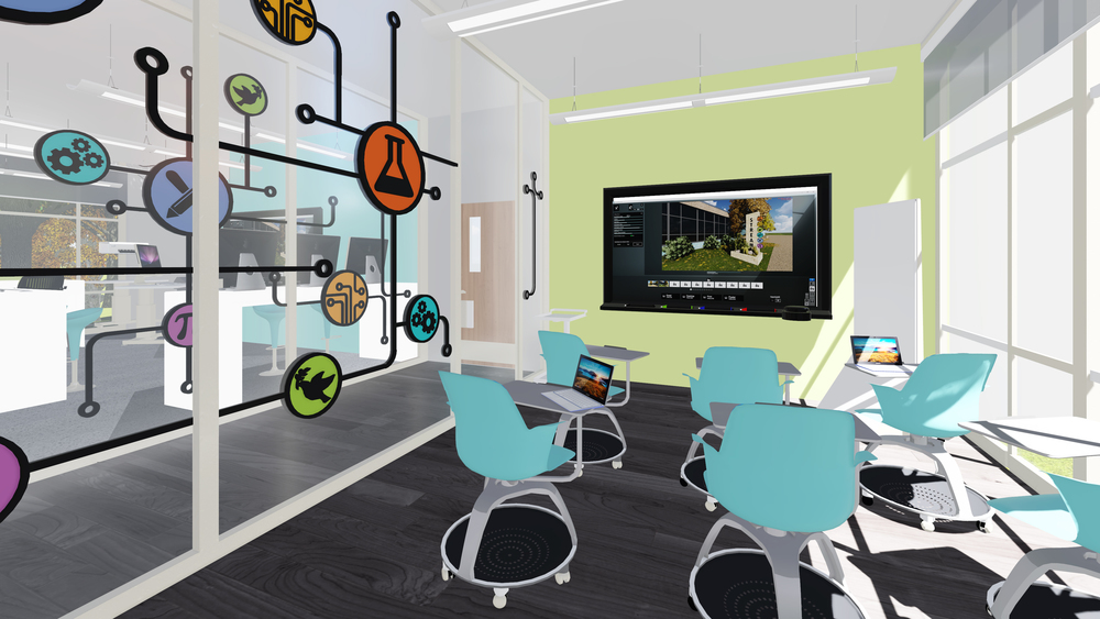 IN PROCESS: STREAM Center Flexible Learning Lab